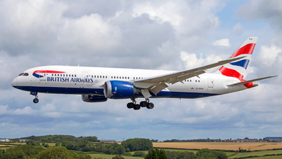 G-ZBJK - Boeing 787-8 Dreamliner - British Airways