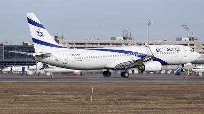 A picture of 4XEKA - Boeing 737858 - El Al - © Loredana Cioclei