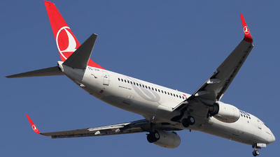 A picture of TCJVA - Boeing 7378F2 - Turkish Airlines - © Ali Mithat Ozdogan