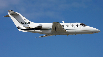 XA-GOB - Hawker Beechcraft 400A - Air Taxi