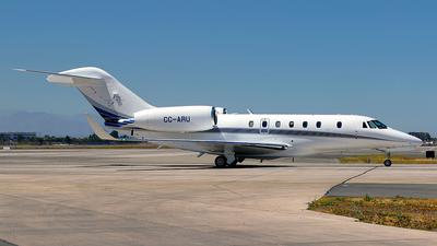 CC-ARU - Cessna 750 Citation X - Private