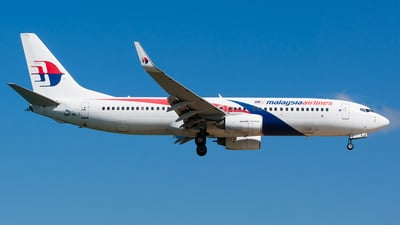 9M-MLJ - Boeing 737-8FZ - Malaysia Airlines