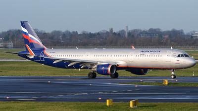 VP-BAX - Airbus A321-211 - Aeroflot
