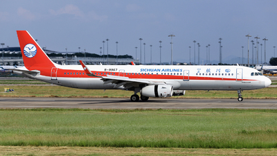 A picture of B9967 - Airbus A321231 - Sichuan Airlines - © nibrage