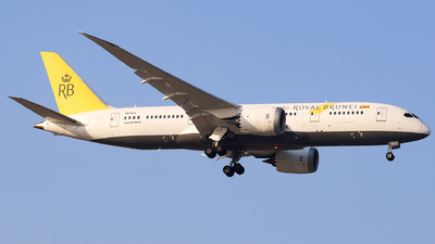 A picture of V8DLD - Boeing 7878 Dreamliner - Royal Brunei Airlines - © Unbeliverpool