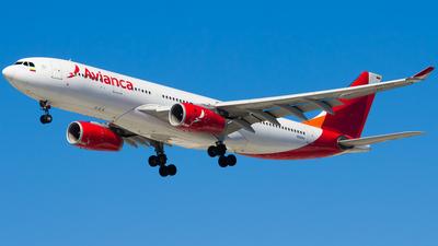 N941AV - Airbus A330-243 - Avianca