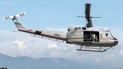 PNC452 - Bell UH-1H Huey II - PNC Policia Nacional Civil