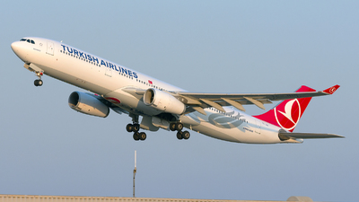 TC-JNO - Airbus A330-343 - Turkish Airlines