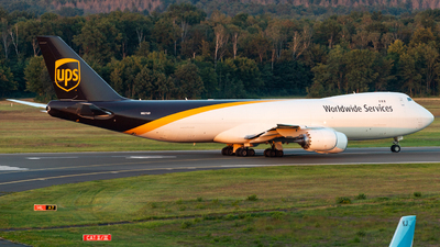 A picture of N621UP - Boeing 7478F - UPS - © Martin Mortensen