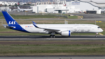 F-WZNL - Airbus A350-941 - Scandinavian Airlines (SAS)