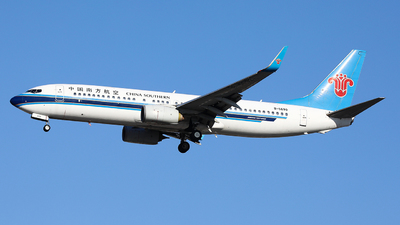 A picture of B5699 - Boeing 73781B - China Southern Airlines - © LANG