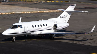 5N-EXJ - Raytheon Hawker 800XP - Private