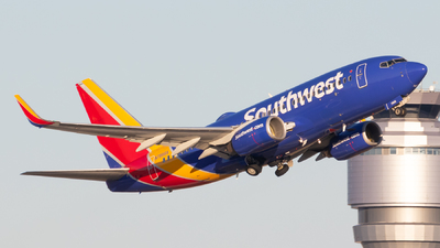 A picture of N7866A - Boeing 7377Q8 - Southwest Airlines - © Davin Amy