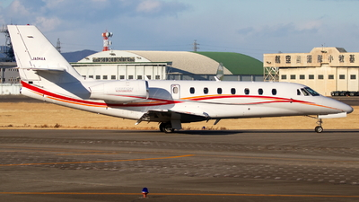 JA04AA - Cessna 680 Citation Sovereign - Aero Asahi