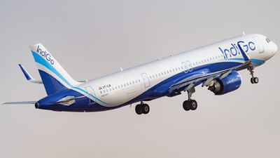 A picture of VTILM - Airbus A321251NX - IndiGo - © Praneeth Franklin