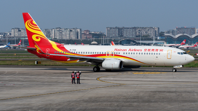 B-1728 - Boeing 737-84P - Hainan Airlines