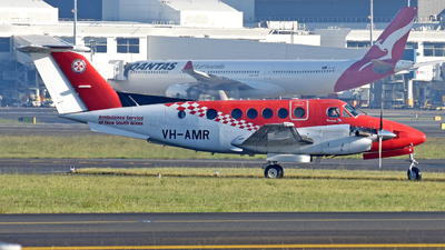VH-AMR - Beechcraft B200 Super King Air - Ambulance Service of NSW (RFDS)