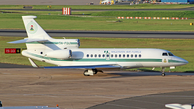 5N-FGU - Dassault Falcon 7X - Nigeria - Air Force