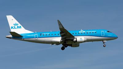 A picture of PHEXK - Embraer E175STD - KLM - © Sebastian Thiel