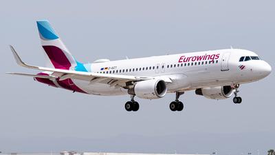 A picture of DAIZT - Airbus A320214 - Eurowings - © Fabrizio Spicuglia