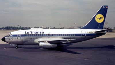D-ABEL - Boeing 737-130 - Lufthansa