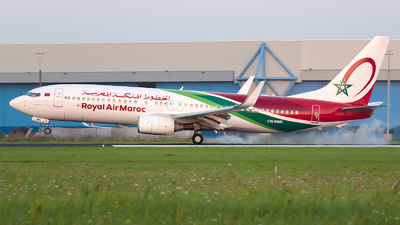 A picture of CNRNK - Boeing 7378B6 - Royal Air Maroc - © R Skywalker