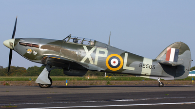 G-HHII - Hawker Hurricane Mk.IIB - Private
