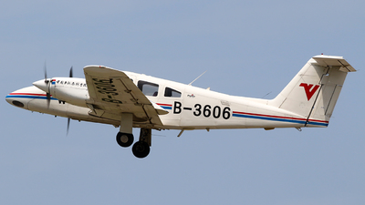 B-3606 - Piper PA-44-180 Seminole - Civil Aviation Flight University of China