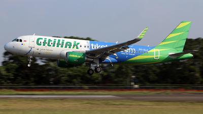 A picture of PKGLZ - Airbus A320214 - Citilink - © etlspotter