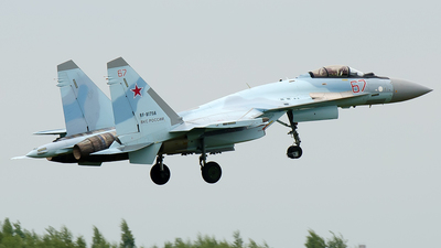 RF-81756 - Sukhoi Su-35S - Russia - Air Force