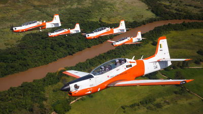 FAB1414 - Embraer EMB-312 Tucano - Brazil - Air Force