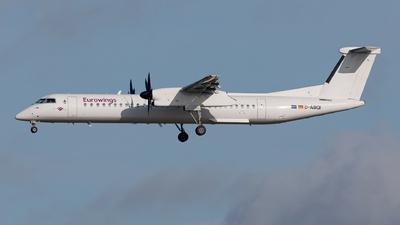 A picture of DABQI - De Havilland Canada Dash 8400 - [4264] - © Fabian Luehrs