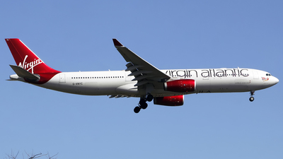 G-VNYC - Airbus A330-343 - Virgin Atlantic Airways