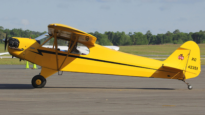 NC42351 - Piper J-3C-65 Cub - Private