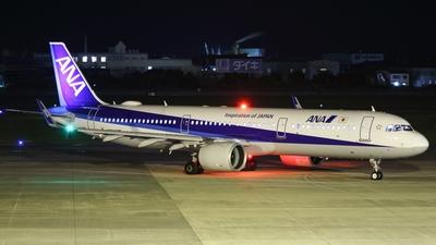 A picture of JA134A - Airbus A321272N - All Nippon Airways - © Koki.Ishida