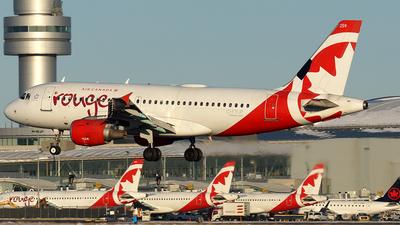 C-FYJP - Airbus A319-114 - Air Canada Rouge