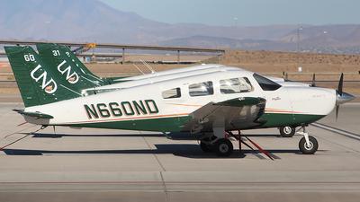 N660ND - Piper PA-28-181 Archer TX - University Of North Dakota