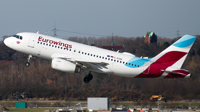 A picture of DAGWV - Airbus A319132 - Eurowings - © Luiza M.