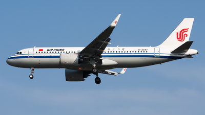 B-30A7 - Airbus A320-271N - Air China