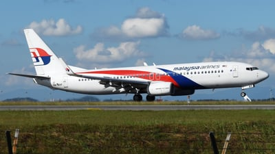 9M-MXF - Boeing 737-8H6 - Malaysia Airlines