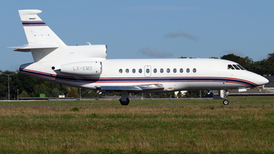 LX-EMO - Dassault Falcon 900EX - Flying Group