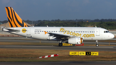 9V-TRA - Airbus A319-132 - Scoot