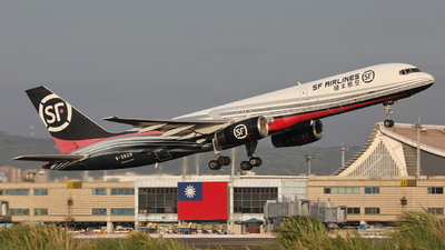 A picture of B2829 - Boeing 75725C(PCF) - SF Airlines - © Ethan Tang