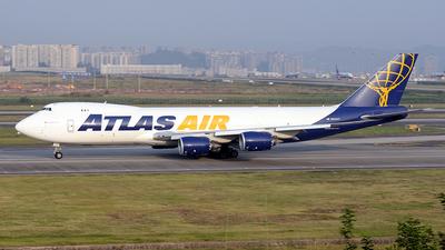 N854GT - Boeing 747-87UF - Atlas Air