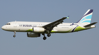 A picture of HL8065 - Airbus A320232 - Air Busan - © REDSOX