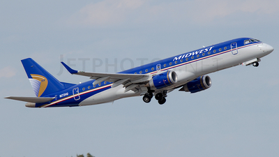 N172HQ - Embraer 190-100IGW - Midwest Airlines (Republic Airlines)