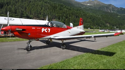 A picture of HBHAO - Pilatus PC7 - [101] - © Mirko Bleuer