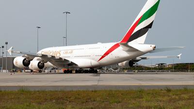 A6-EVC - Airbus A380-842 - Emirates