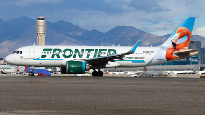 N308FR - Airbus A320-251N - Frontier Airlines