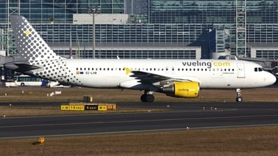 EC-LVB - Airbus A320-214 - Vueling Airlines